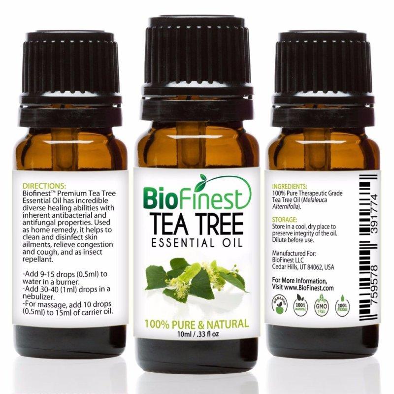 Buy Biofinest Tea Tree Essential Oil (100% Pure Therapeutic Grade) 10ml Singapore