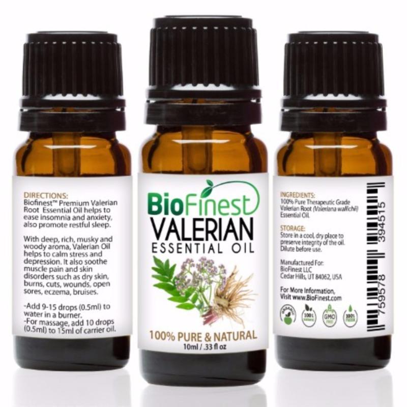 Buy Biofinest Valerian Essential Oil (100% Pure Therapeutic Grade) 10ml Singapore