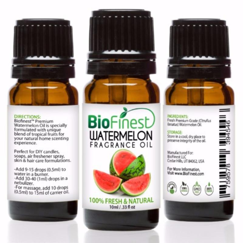 Buy Biofinest Watermelon Fragrance Oil (100% Fresh and Natural Aroma Oil) 10ml Singapore