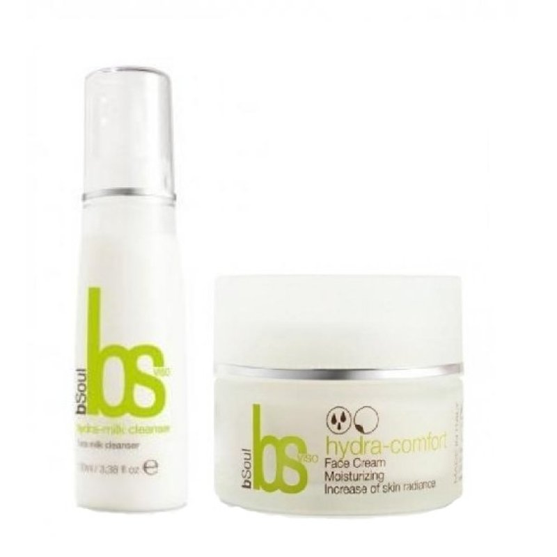 Buy [bSoul Package] Skin Care Hydra-Milk Cleanser + Skin Care Hydra-Comfort Face Cream Singapore