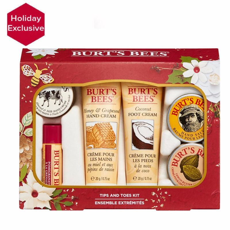 Buy BURT BEE CHRISTMAS GIFT SET - TIPS & TOES gift KIT Singapore