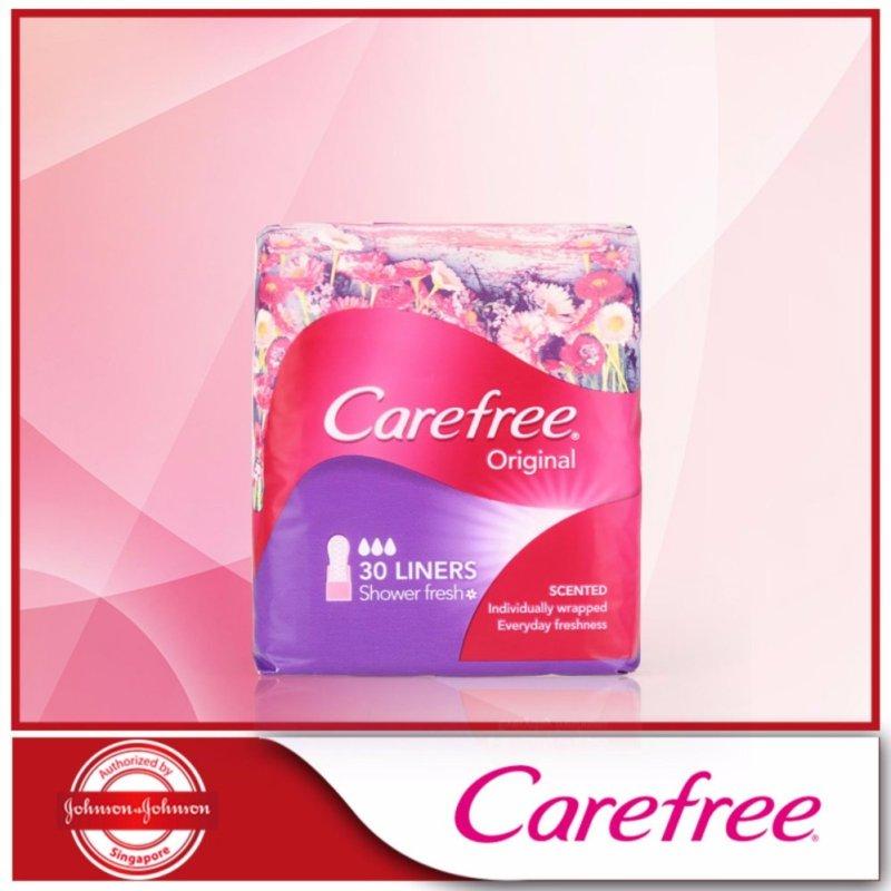 Buy Carefree Original Shower Fresh 30pcs Singapore