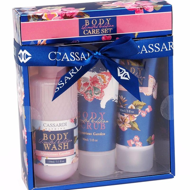 Buy Cassardi Mysterious Garden Body Care Trio Singapore