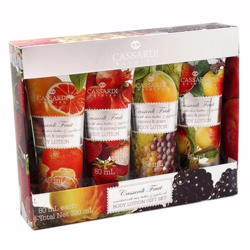 Buy Cassardi Tropical Fruit Body Lotion Gift Set Singapore