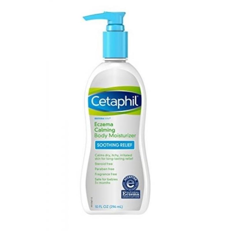 Buy Cetaphil Restoraderm Eczema Calming Body Moisturizer, 10-Fluid Ounces (Packaging May Vary) - intl Singapore