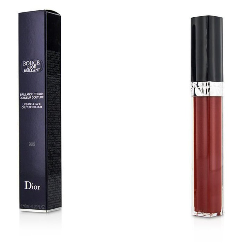 Buy Christian Dior Rouge Dior Brillant Lipgloss - # 999 6ml/0.2oz - intl Singapore