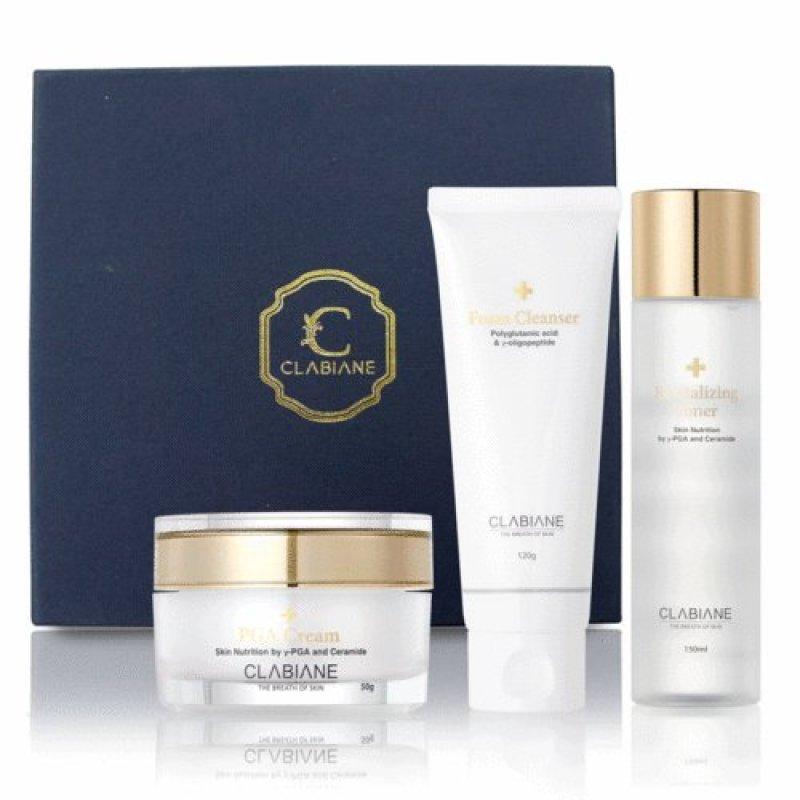 Buy CLABIANE W LINE SET 2 / Foam Cleanser Toner PGA Cream Singapore