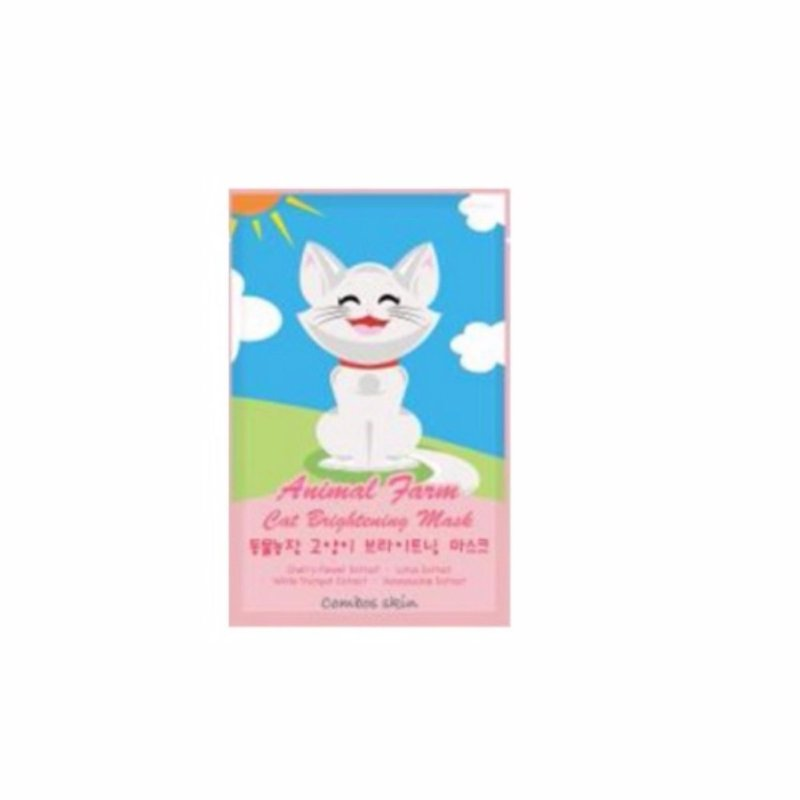 Buy Color Combos Animal Farm Mask Cat Brightening 22ml Singapore