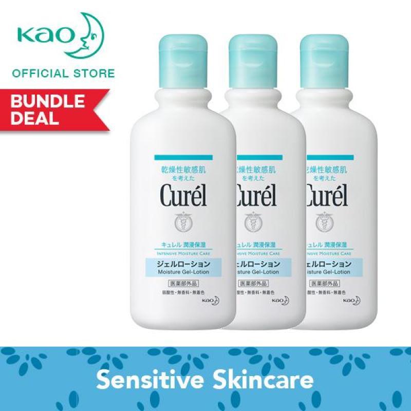 Buy Curel Moisture Gel Lotion 220ml Triple Pack Singapore