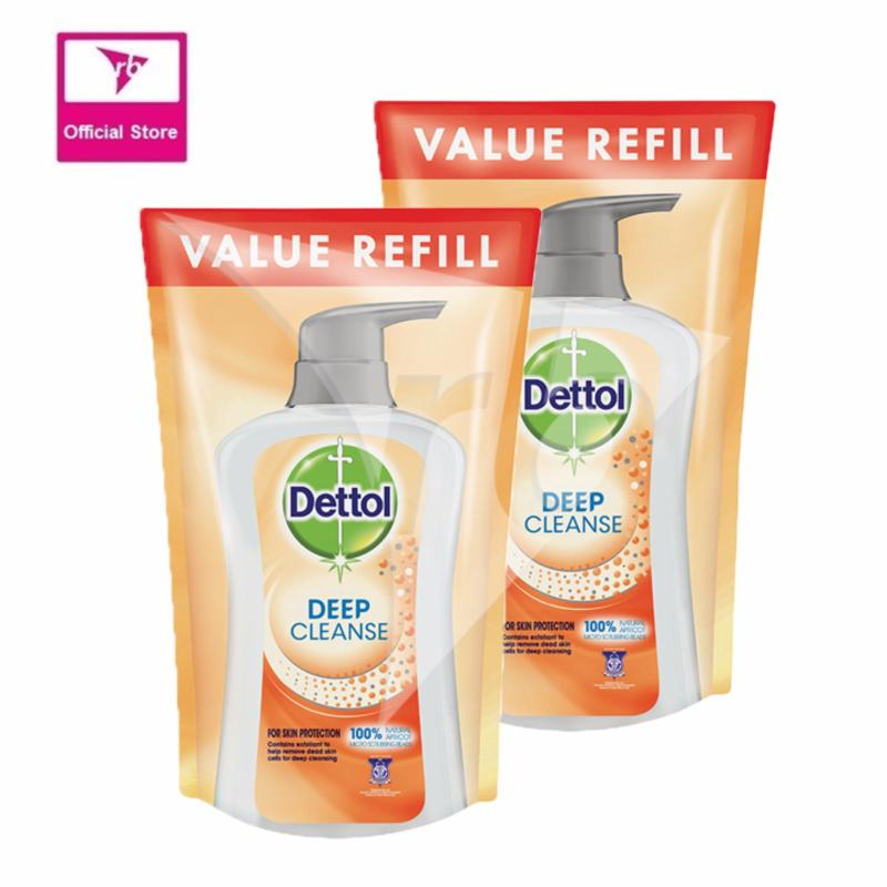 Buy Dettol Anti-Bacterial Shower Gel Refill Pack Deep Cleanse Twin Pack 800ML x 2 Singapore