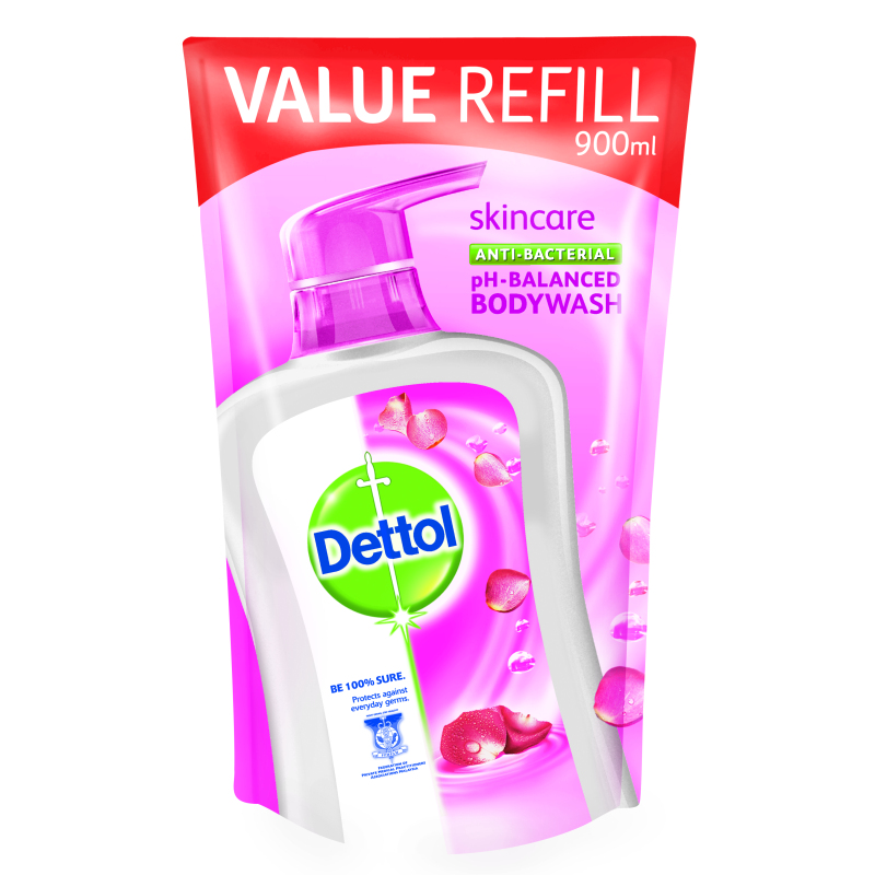 Buy Dettol Body Wash Pouch Skincare 900Ml Singapore