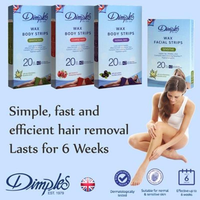 Buy Dimples Body Wax Strips (Sensitive Skin) Singapore