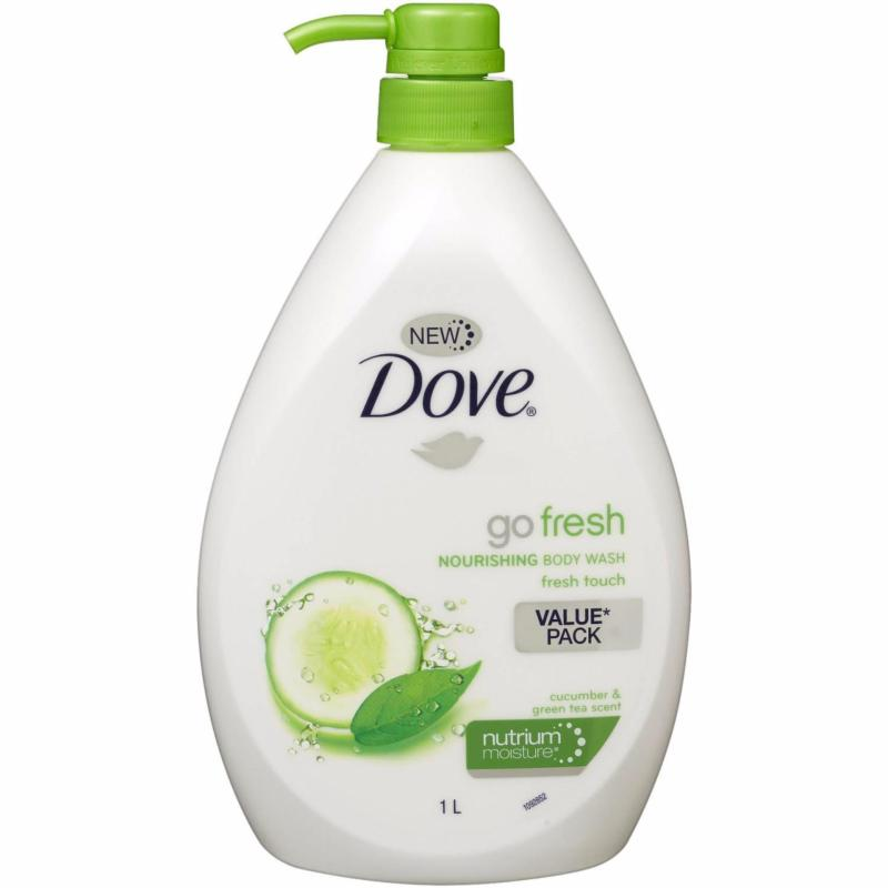 Buy Dove Body Wash Go Fresh Touch 1000ml Set of 2 Singapore