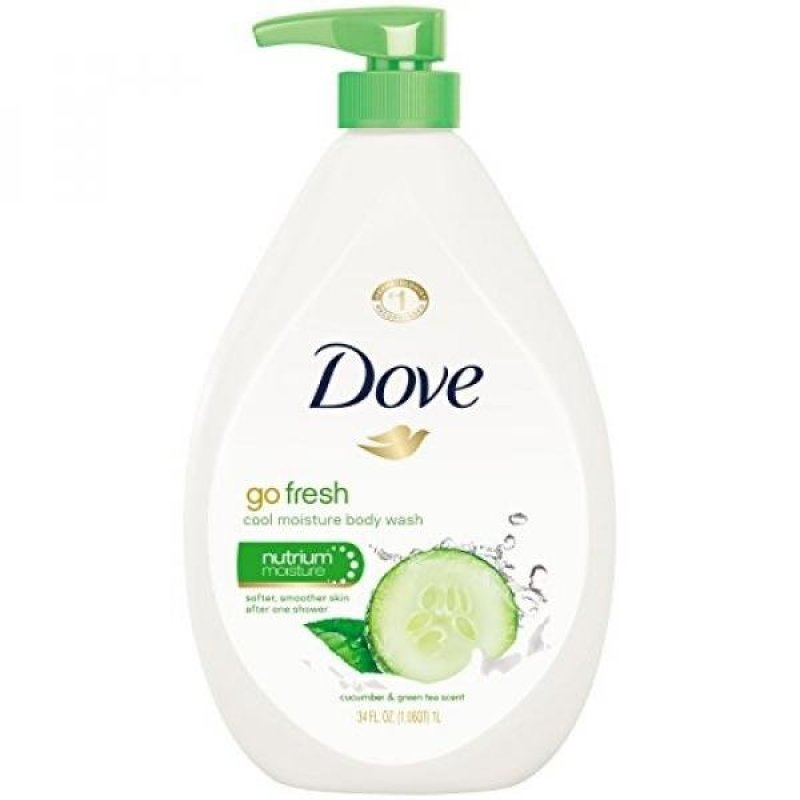Buy Dove Body Wash Pump, Cucumber and Green Tea 34 oz - intl Singapore