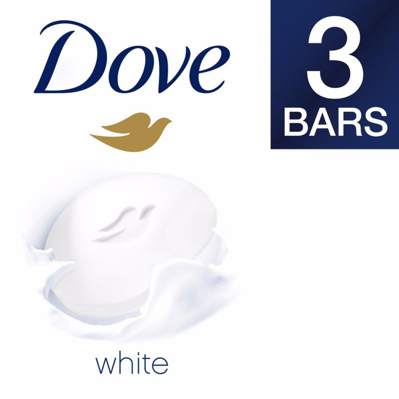 Buy Dove Gentle Exfoliating Beauty Soap Bar 100g (x3) Singapore