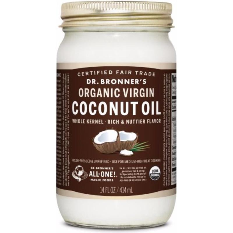 Buy Dr Bronner Whole Kernel Organic Virgin Coconut Oil Singapore