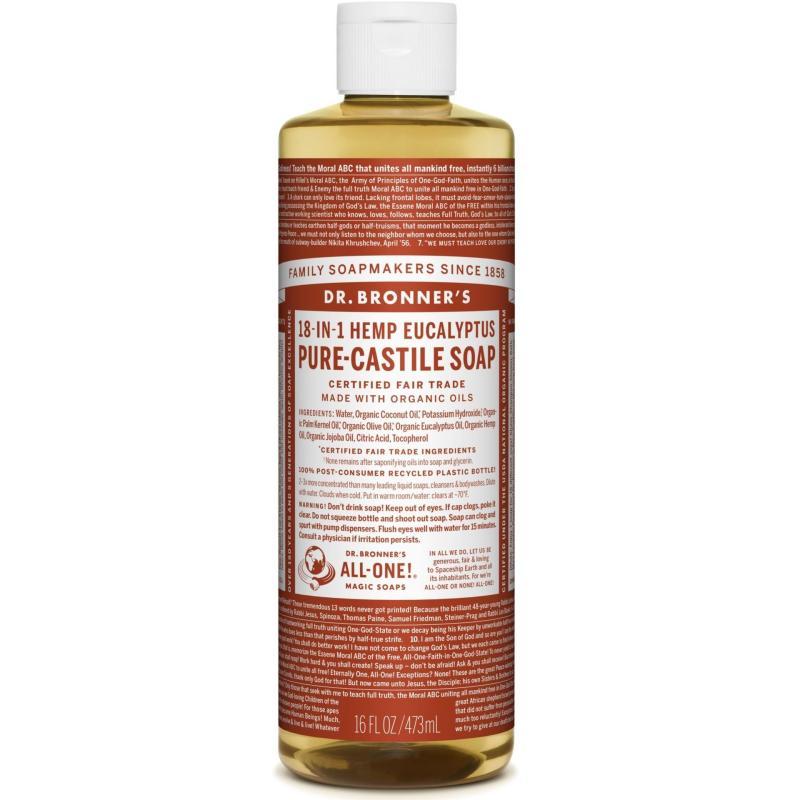 Buy Dr Bronners Organic Magic Castile Soap 16oz Eucalyptus Singapore