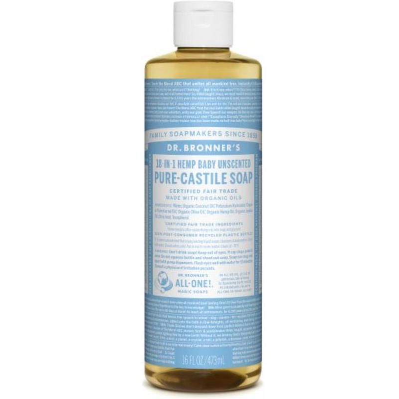 Buy Dr Bronners Organic Magic Castile Soap 16oz Baby Unscented Singapore