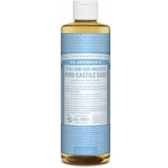 Dr Bronners Organic Magic Castile Soap 16oz Baby Unscented