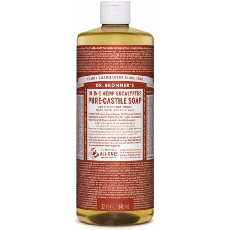 Buy Dr Bronners Organic Magic Castile Soap - Eucalyptus 32oz Singapore