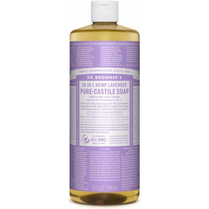 Buy Dr Bronners Organic Magic Castile Soap - Lavender 32oz Singapore