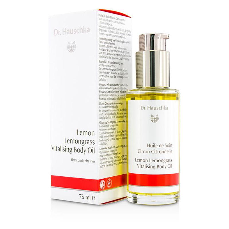 Buy Dr. Hauschka Lemon Lemongrass Vitalising Body Oil - Firms Refreshes 75ml/2.5oz Singapore