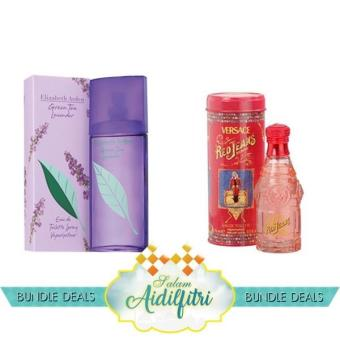 EA Green Tea Lavender EDT Lady (100ml) & Versace Red Jean EDTLady (75ml)