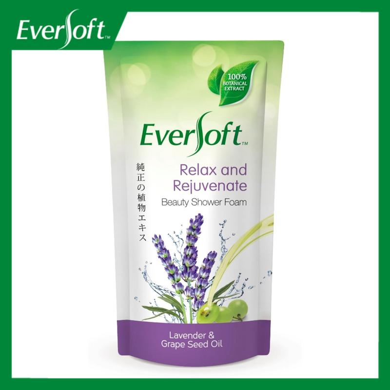 Buy Eversoft Lavender & Grapeseed Oil Beauty Shower Foam 600ml Singapore