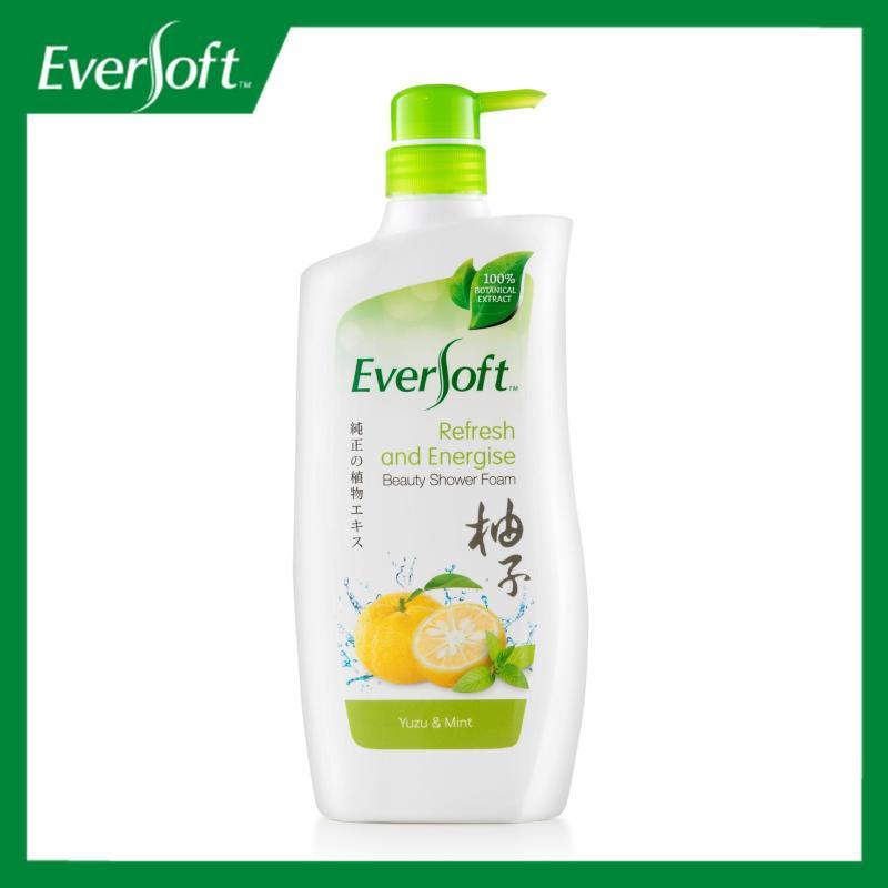 Buy Eversoft Yuzu & Mint Beauty Shower Foam 800ml Singapore