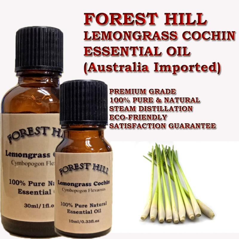 Buy Forest Hill 100% Pure & Natural Lemongrass Cochin Essential Oil 10ml - Australia Imported Singapore