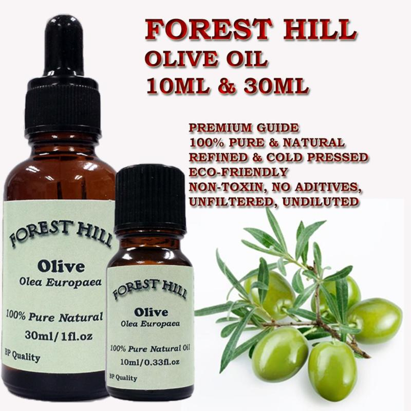 Buy Forest Hill 100% Pure Natural Carrier Oil, Olive 30ml Singapore