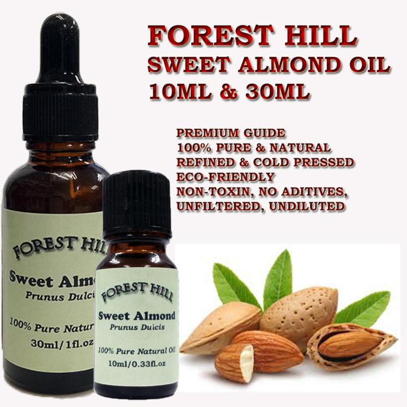 Buy Forest Hill 100% Pure Natural Carrier Oil, Sweet Almond 10ml Singapore