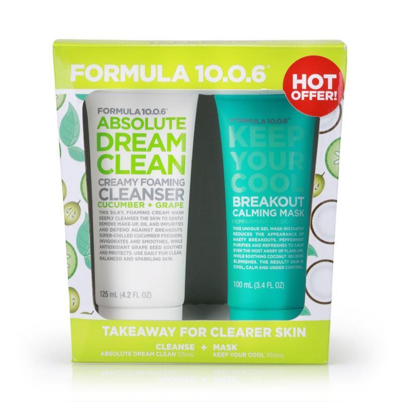 Buy Formula 10.0.6 Takeaway For Clearer Skin Kit 1pcs Singapore