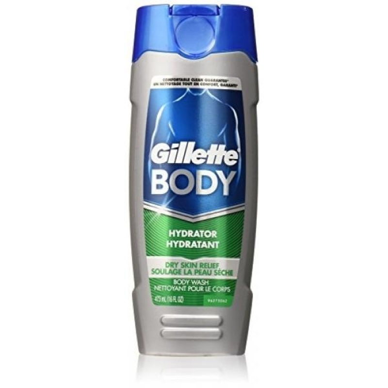 Buy Gillette Body Hydrator Body Wash, Dry Skin Relief, 16 Fluid Ounce (Pack of 6) - intl Singapore