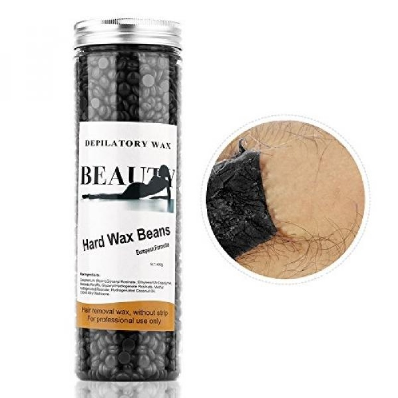 Buy HailiCare Hair Removal Hard Wax Beans - Brazilian Granules, 14 Ounces - Film Hard Wax Beads - Stripless Depilatory Wax - intl Singapore