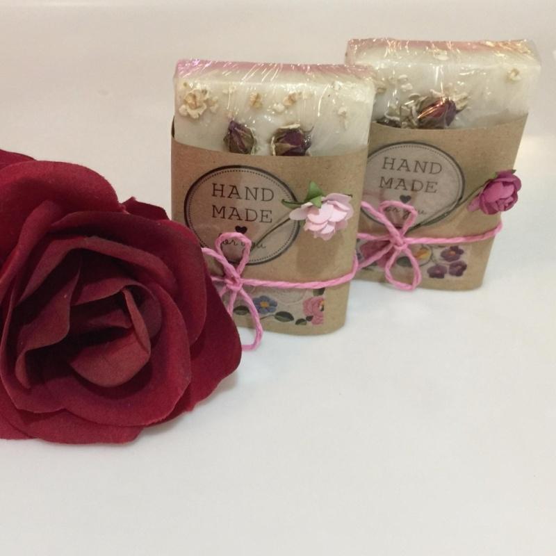 Buy Handmade Rose / Oatmeal Soap Singapore