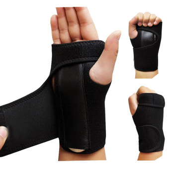 Hot Sales Left and Right 1Pair Bandage Orthopedic Hand Brace Wrist Support Finger Splint Carpal Tunnel Syndrome