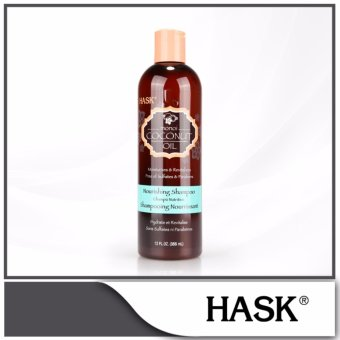 Harga HASK Monoi Oil Nourishing Shampoo 355ml