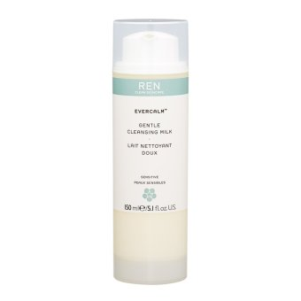 Harga REN Evercalm Gentle Cleansing Milk (Sensitive Skin) 5.1oz, 150ml