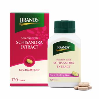 Harga [Protect Your Liver Today!] BRAND'S® Sesamin with Schisandra Extract x 120 Tablets
