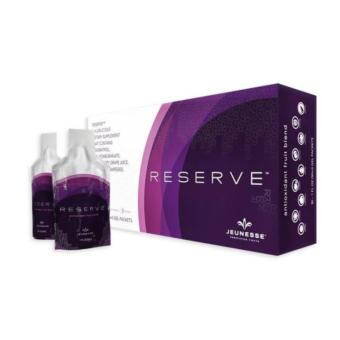 Harga Jeunesse RESERVE High Resveratrol Antioxidant Botanical Fruit Blend 1 Box (30 Gel Packets)
