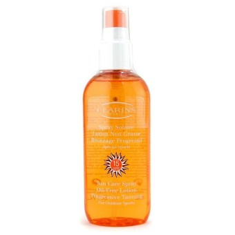 Harga Clarins Sun Care Spray Oil-Free Lotion Progressive Tanning SPF 15 (For Outdoor Sports) 150ml/5.1oz