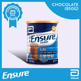 Harga Ensure Life - Chocolate 850g