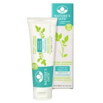 Harga Nature's Gate Crème de Peppermint Toothpaste 119ml 170g (big tube,100% natural vegan ingredients)