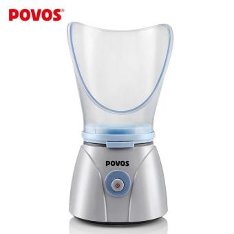 Harga POVOS Face Steamer for Woman Dual Purpose Face Sprayer Skin Care Machine Home Facial Spa Beauty Skin PM1012 - intl