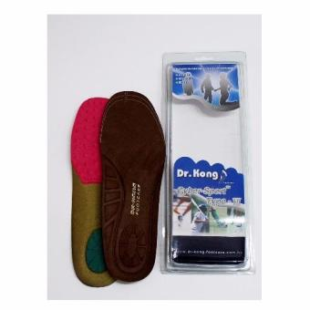Harga Dr Kong Cyber-Sport Type-VII Shoes insoles / /Walking Shoes Insoles/Hiking Shoes Insoles (L Size 41 - 43)