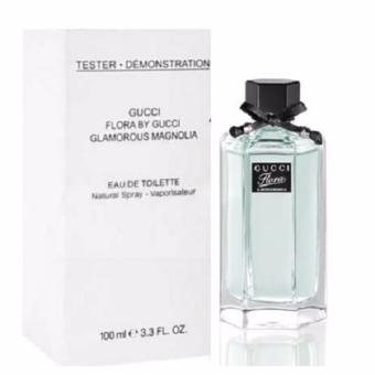 Harga GUCCI FLORA BY GUCCI GLAMOROUS MAGNOLIA EDT 100ML-TESTER WITH CAP