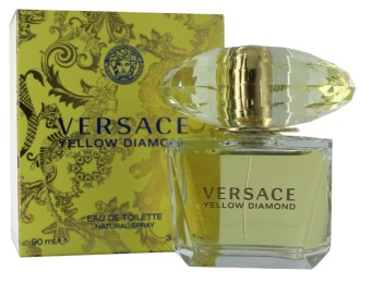 Harga Versace Yellow Diamond EDT Spray 90ml Ladies