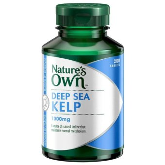 Harga Nature's Own Kelp 1000mg 200 Tablets