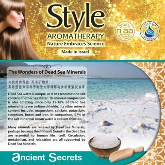 Style Aromatherapy Dead Sea Natural Spa Mud Soap Block 120g - 2